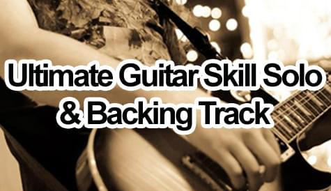 ultimate guitar skill solo & backing track