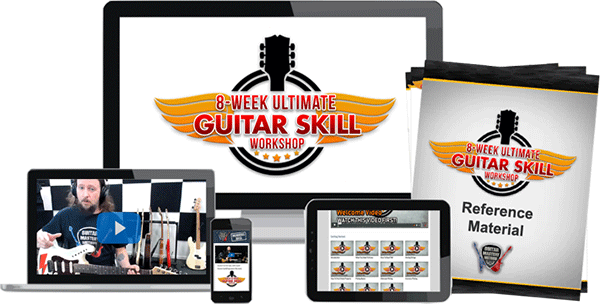 8-Week Ultimate Guitar Skill Workshop Deliverable