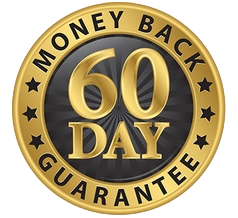 60 Day Full Money Back Guarantee